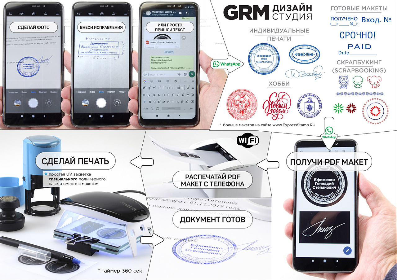 GRM StampMаker mini - стартовый комплект