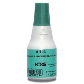 NORIS 193 25 мл., зеленая штемпельная краска