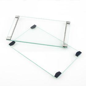 Стеклянная рамка с ограничителями, для засветке в мобильной экспо-камере, формат А6