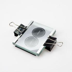Стеклянная рамка с ограничителями, для засветке в мобильной экспо-камере, формат А7