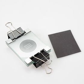 Стеклянная рамка с ограничителями, для засветке в мобильной экспо-камере, формат А8