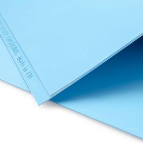 Лазерная резина «Эколайн» - голубая