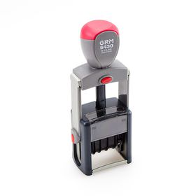 GRM 5430 2 Pads - Металлический датер с полем для текста
